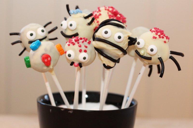 Cakepops til Halloween 2 -