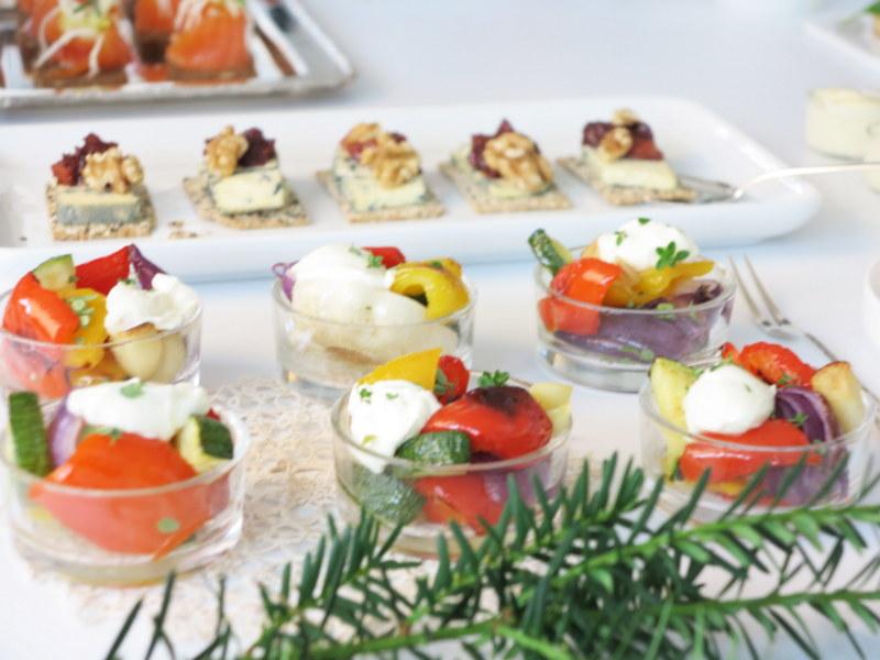 Fingermat Maison Mat og Vin - grillede grønnsaker