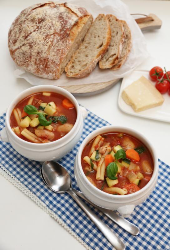 Eltefritt italiensk landbrød