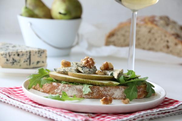 sandwich med pære