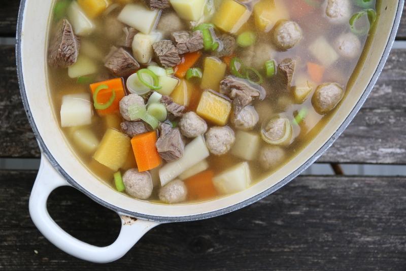 Kjøttsuppe