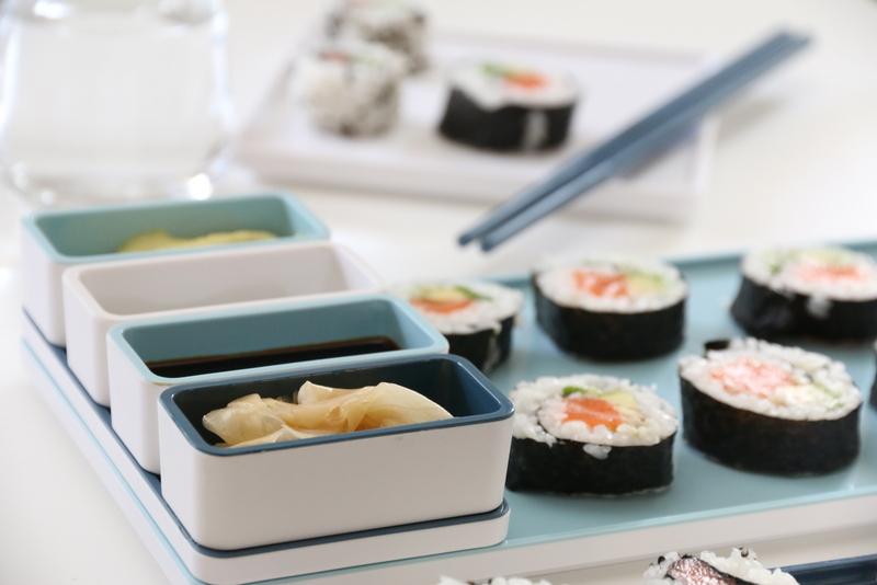 sushi - futomaki og uramaki