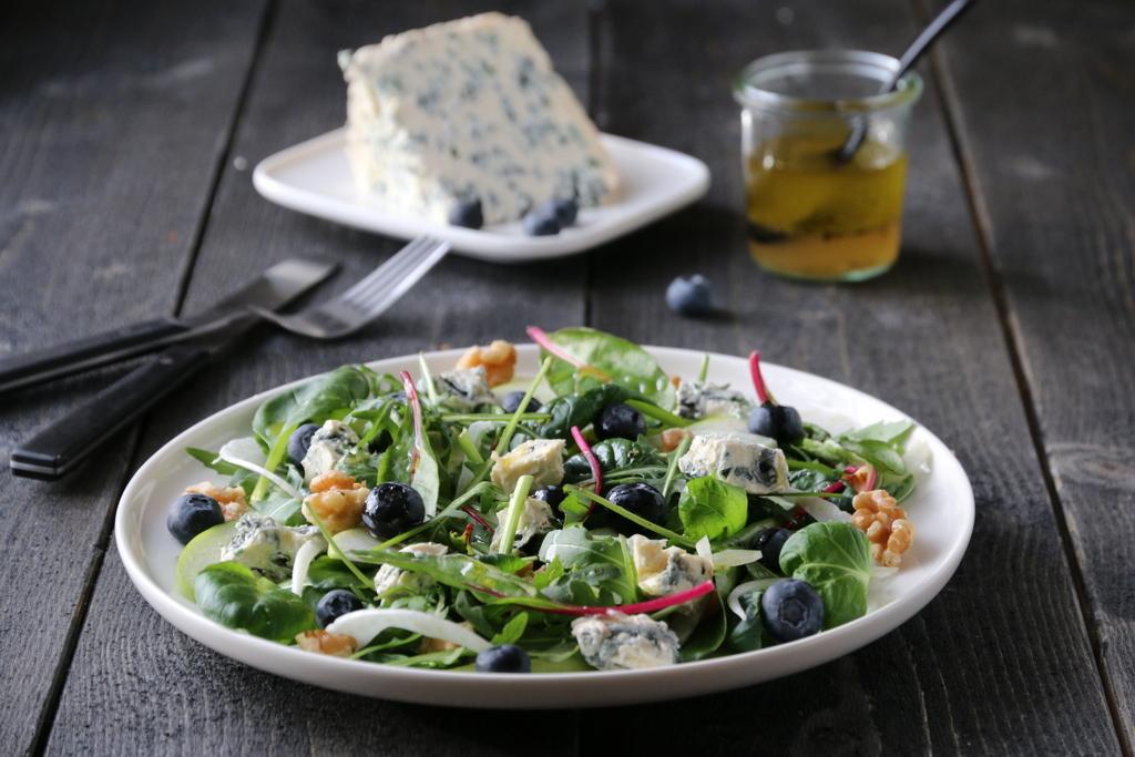 Salat med Saint Agur