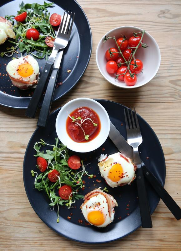 Egg i bacon