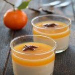 Panna cotta med appelsinsaus