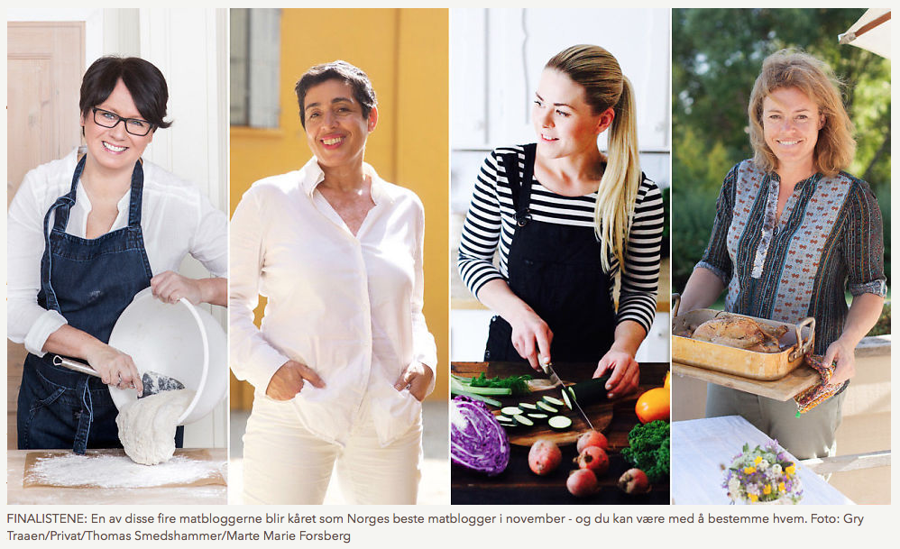 Finalister Årets matblogger