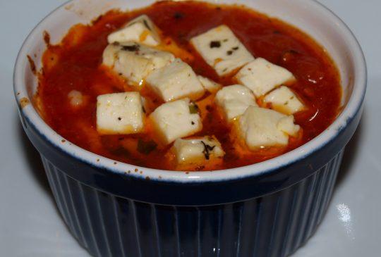 Image: Tomatbakte reker med feta