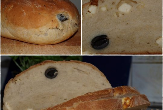 Image: Oliven- og fetabrød