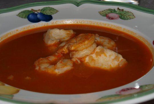 Image: Zuppa di pesce – fiskesuppe fra Sør-Italia