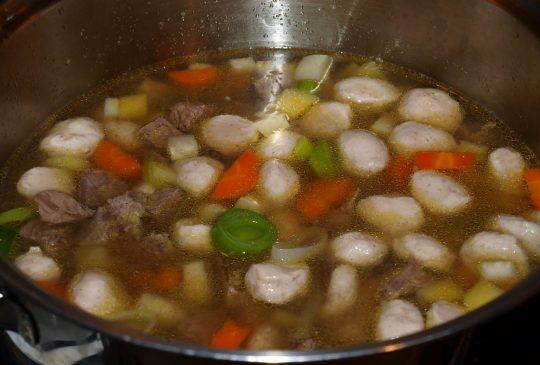 Image: Kjøttsuppe