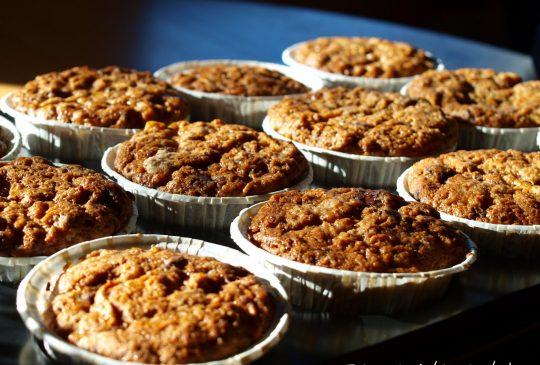Image: Gulrotmuffins med sjokolade og eple
