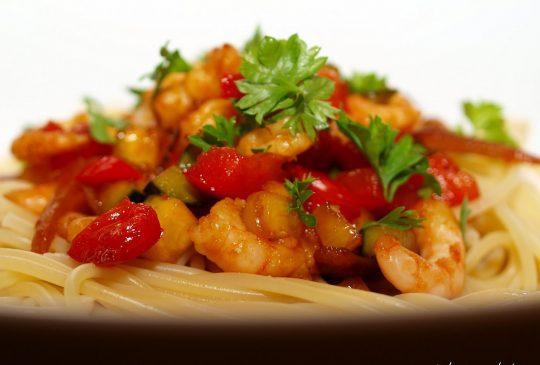 Image: Rekewok med ingefær, chili og hvitløk