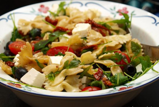 Image: Enkel pastasalat – til hverdag og fest!
