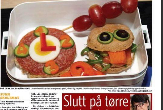 Image: Matpakketips fra Trines Mektige Matblogg i Dagbladets matbilag