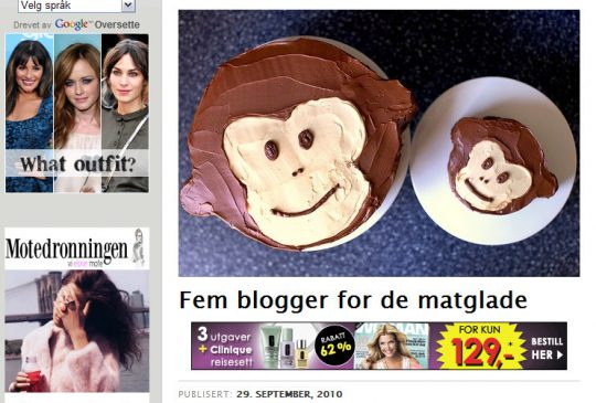 Image: Fem blogger for de matglade