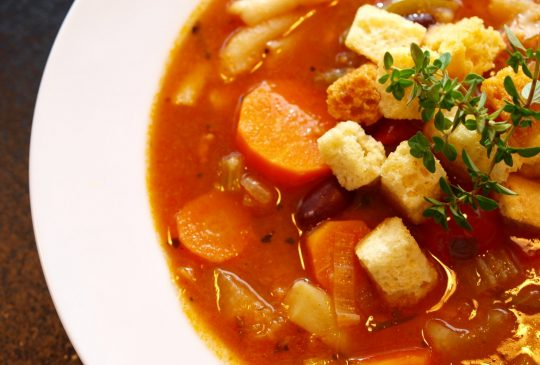 Image: Minestronesuppe – enkel, god og sunn høstmat til mange