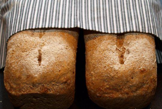 Image: Speltbrød med pinjekjerner
