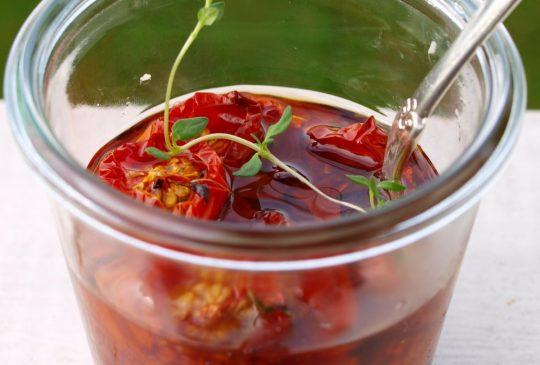 Image: Konfiterte tomater