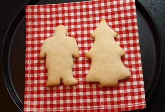 Image: Kakemenn og julenissetrær