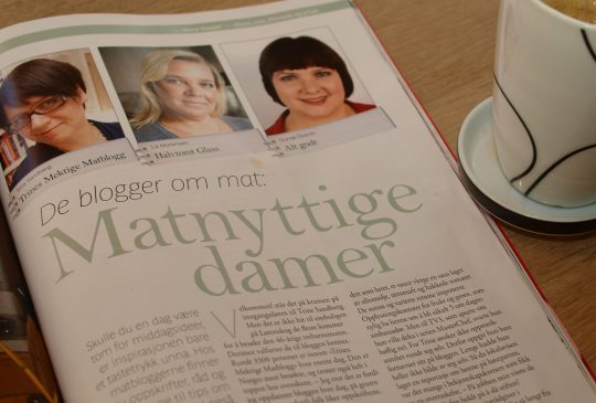 Image: Matnyttige damer i Mat&Helse 1/11