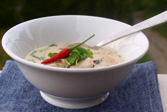 Image: TOM KHA GAI – Thailandsk kokossuppe med kylling