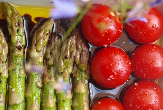 Image: Grillmat på tampen av sommeren