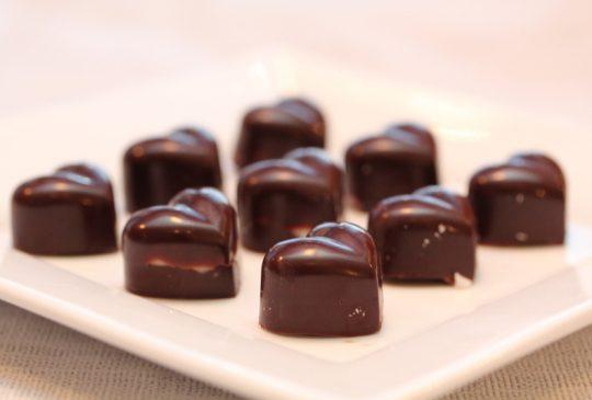 Image: Anettes sjokoladekonfekt med peppermynte