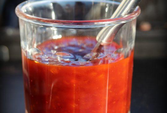 Image: BBQ-saus med honning og sennep