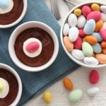 Sjokolademousse med påskeegg