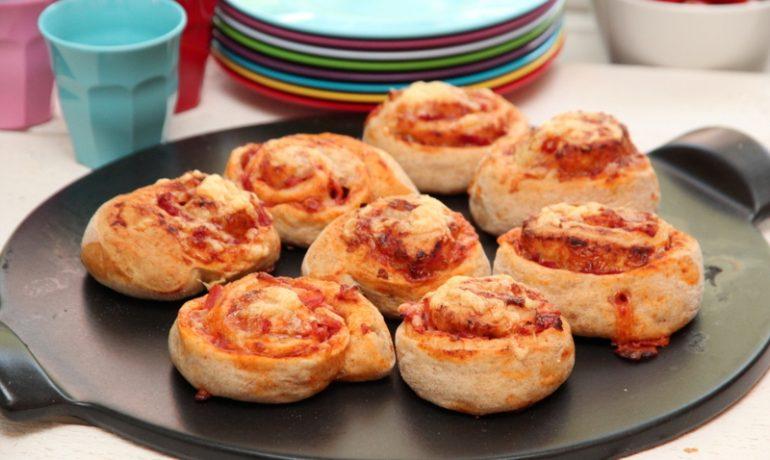 Barnevennlige Pizzasnurrer Trines Matblogg