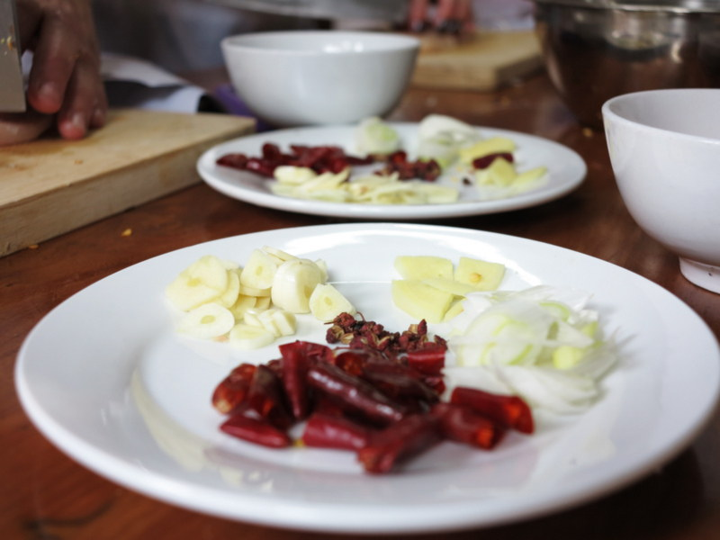 Gong bao kylling