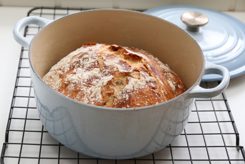 Eltefri hveteloff og Le Creuset