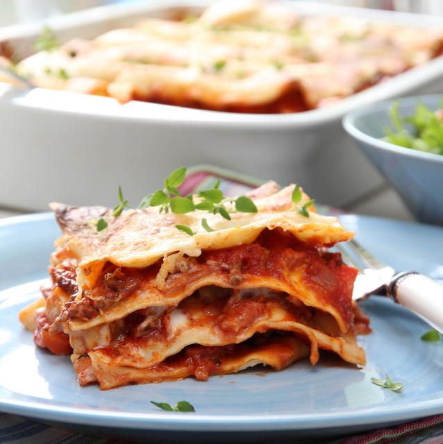 lasagne til 20 personer