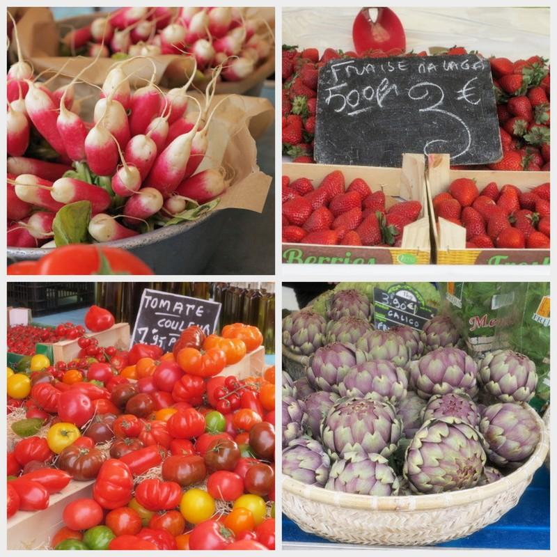 Matreise til Nice - grønnsaker