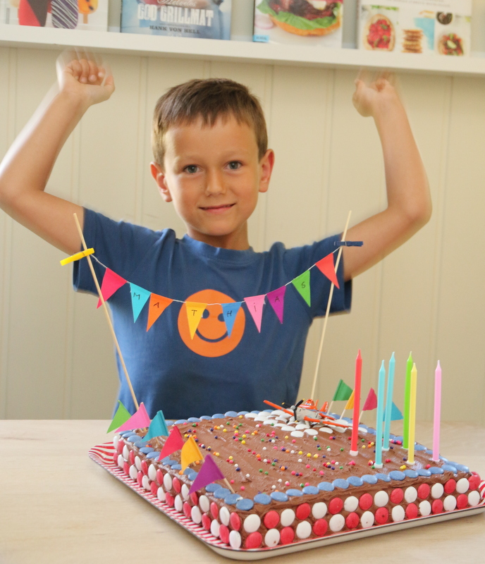 Flykake - Mathias 6 år