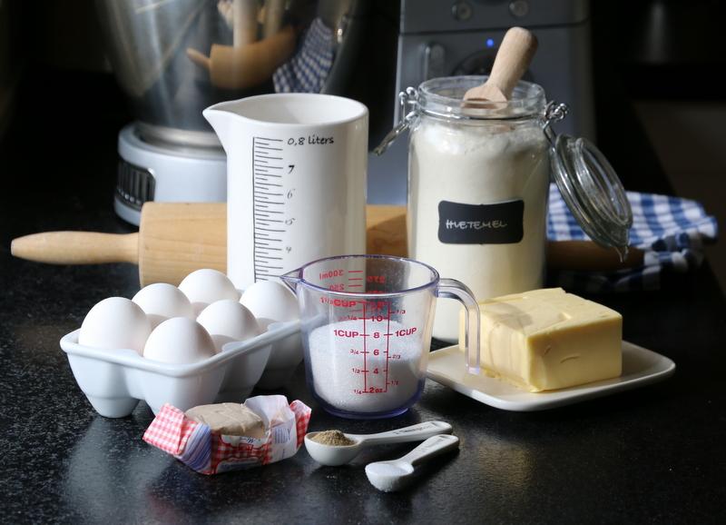 ingredienser gjærbakst
