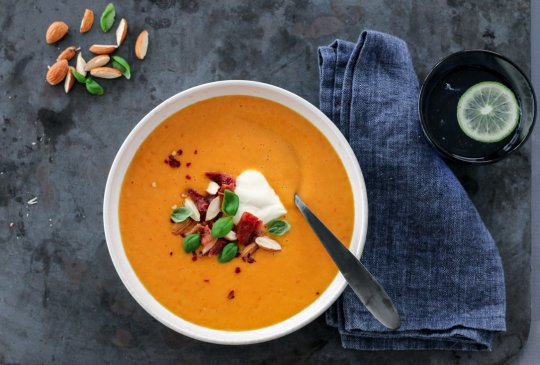 Image: SPICY GULROTSUPPE MED BACON