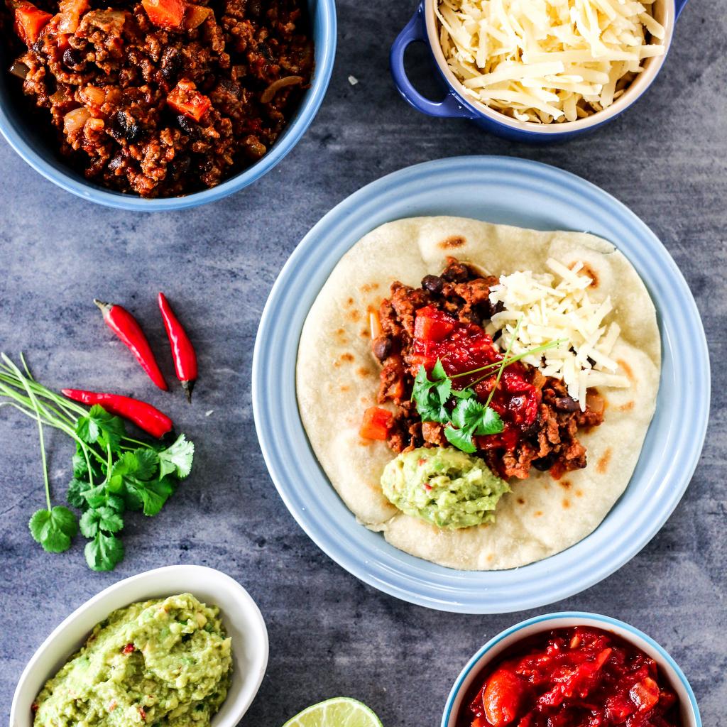 Taco med kjøttdeig