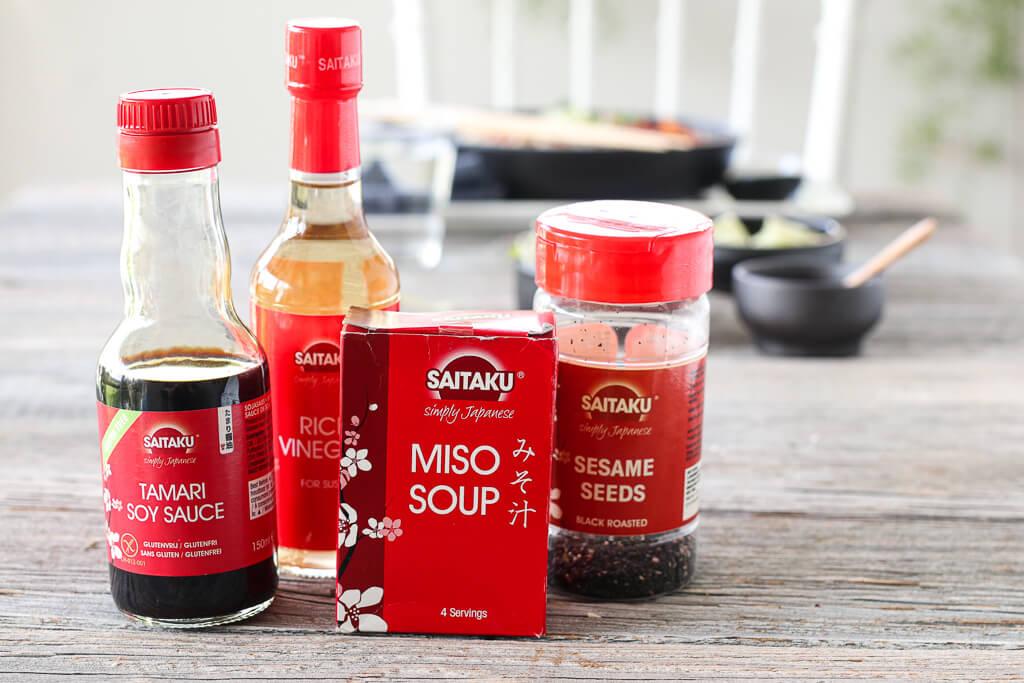 Misosuppe med svinekjøtt