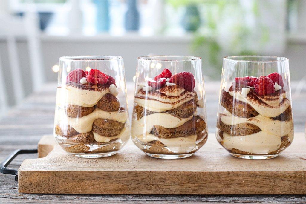 Tiramisu på glass