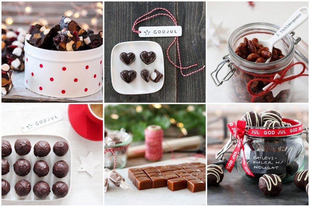 Spiselige gaver - konfekt