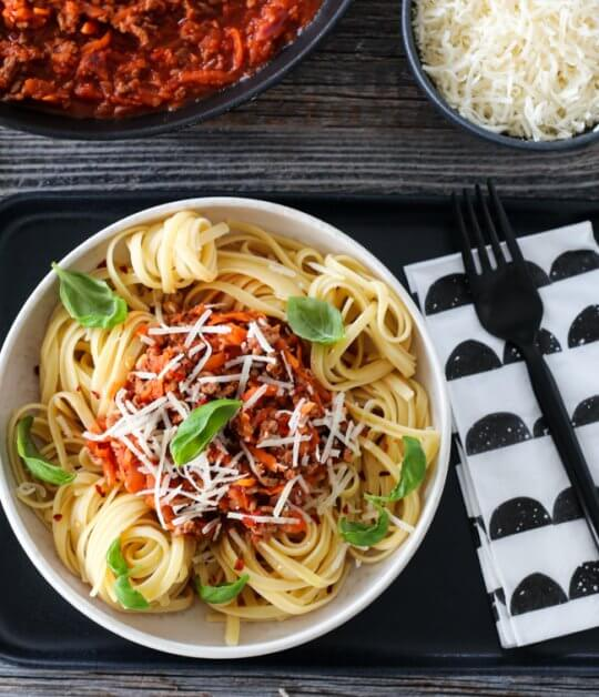 Image: SPAGETTI BOLOGNESE
