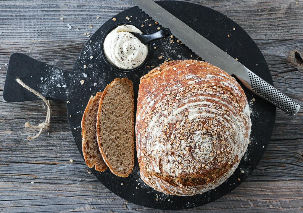 Eltefritt halvgrovt hvetebrød