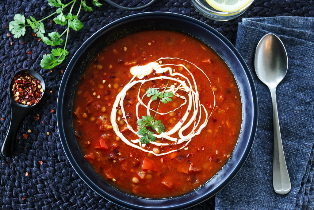 SPICY LINSESUPPE MED CHORIZO