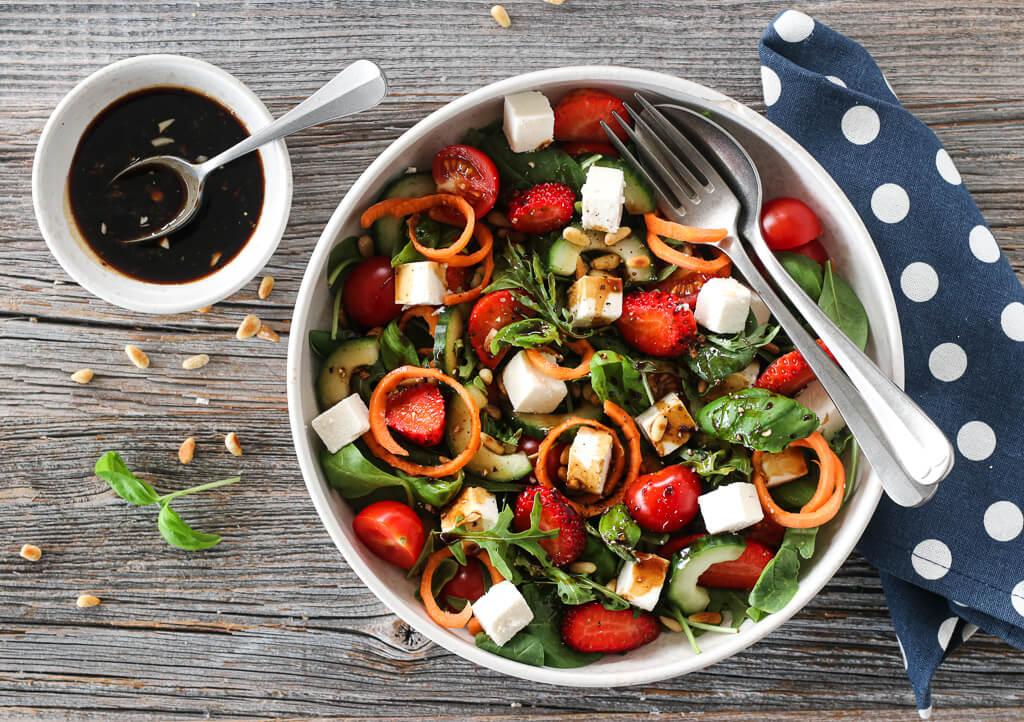 Trines Salat Med Spekeskinke