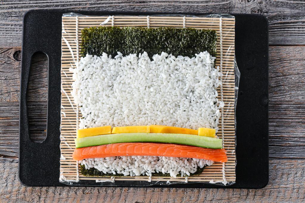 Sushi - maki, nigiri og sashimi