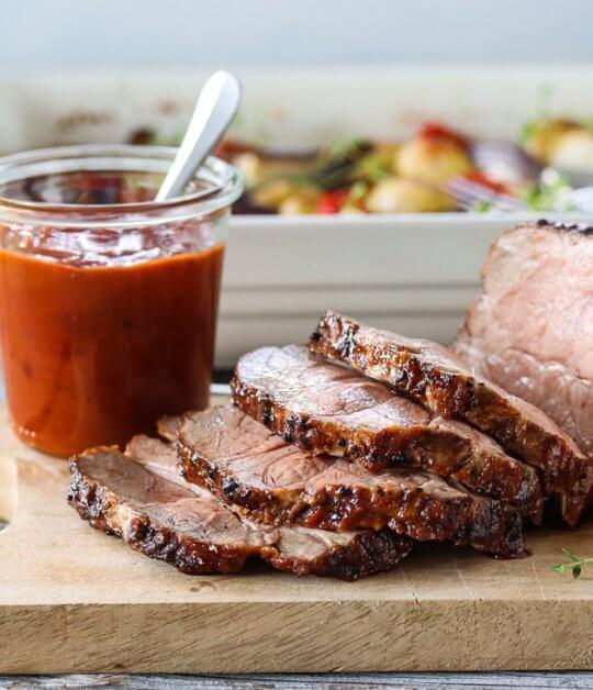 Image: GRILLET SVINENAKKE MED BBQ-SAUS – NORSKE MATSKATTER PÅ GRILLEN