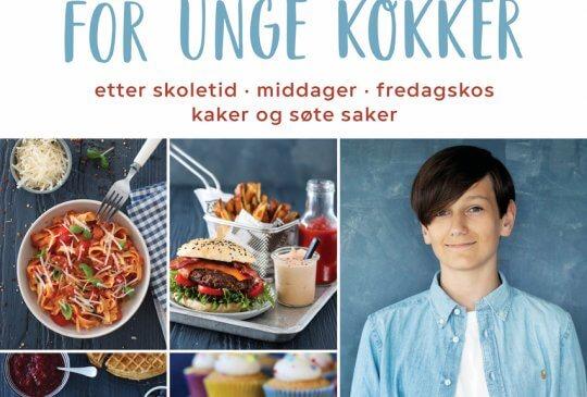 Image: TRINES KOKEBOK FOR UNGE KOKKER – HER ER COVERET!