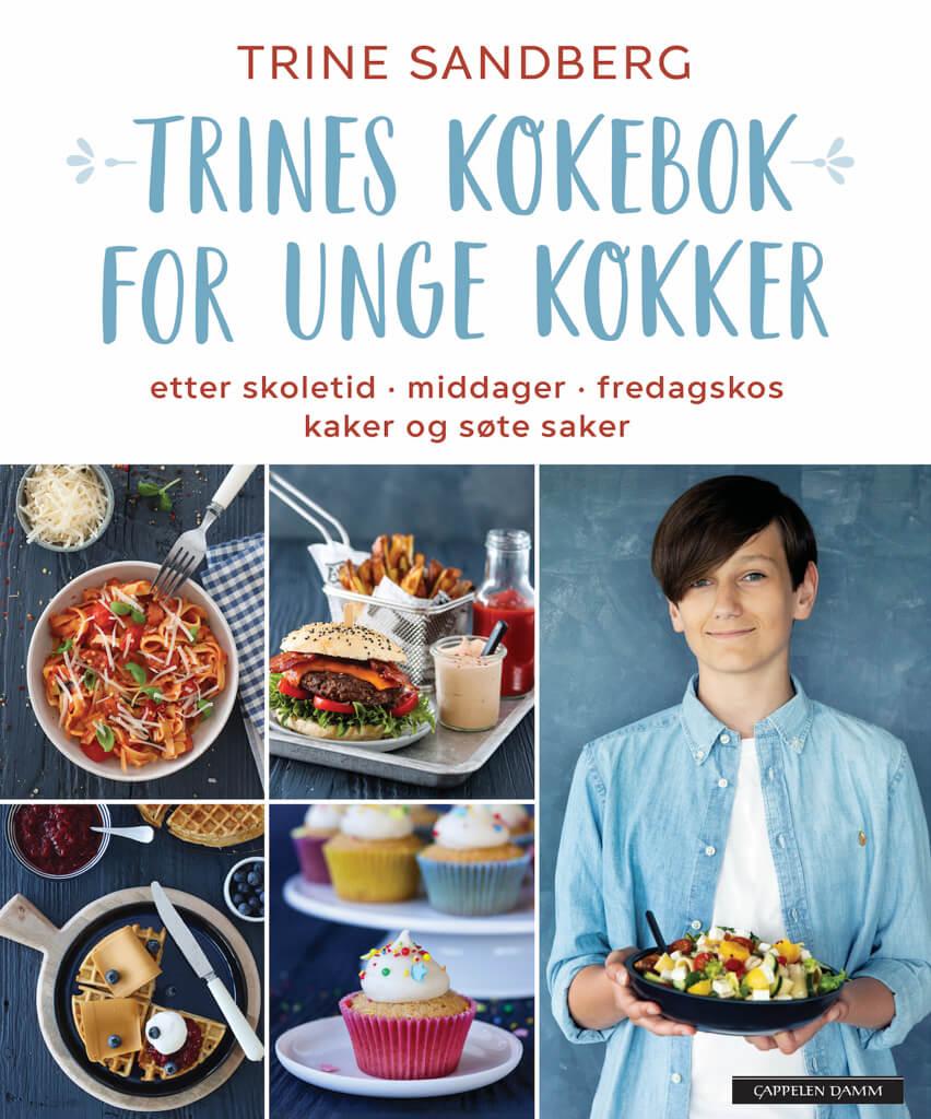 TRINES KOKEBOK FOR UNGE KOKKER – HER ER COVERET!