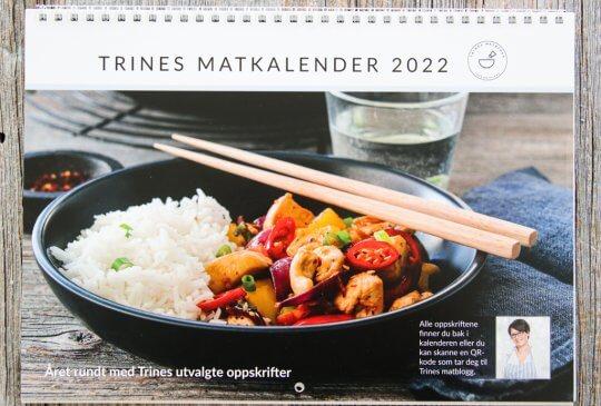 Image: TRINES MATKALENDER 2022
